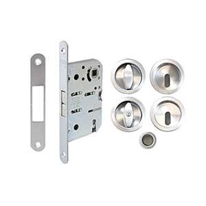קיט תפוס/פנוי עם נעילת מפתח לדלת הזזה, דגם 2918B_מנעולים לדלתות-377