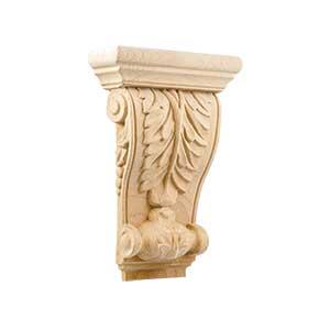 כרכוב עץ אקנטוס, דגם WD90_אלמנטים מעץ לריהוט-405