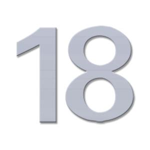 שלט מספר לדלת, דגם LER10_מספרים ושלטים לדלתות-333