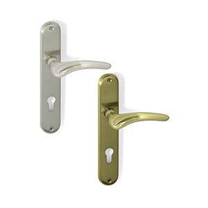 ידית לדלת עם פלטה, 85/90, דגם DMA130_ידיות לדלתות פנים וחוץ-289