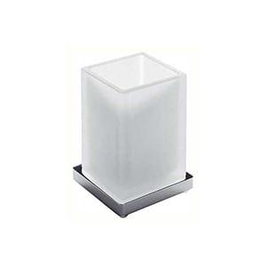 כוס זכוכית מונחת לאמבטיה, דגם B1641_סדרת Look לאמבט-357