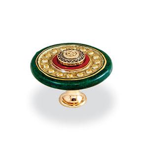 ידית כפתור פרצלן צבעונית, דגם FA2671_ידיות כפתור פורצלן-306