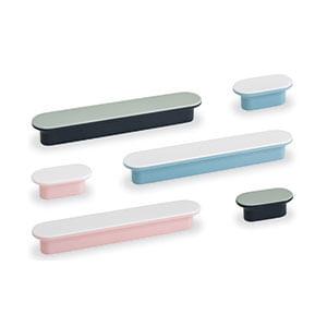 ידית כפתור אובלית במגוון צבעים לריהוט, 0337_ידיות מודרניות-324