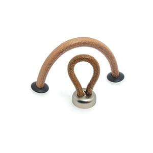 ידית כפתור עור, דגם B227-15088