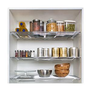 מדפי רשת קבועים לארון מזווה, דגם DPG_מתקני רשת למטבח-574