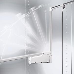 מנגנון תליה גבוה לארון בגדים, דגם LIFT300P_מתקנים לתליה גבוהה-460