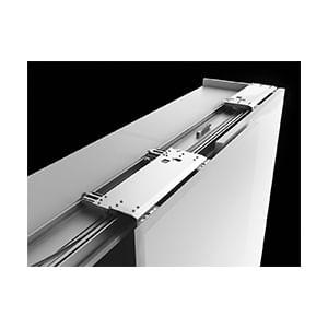 מנגנון לדלתות הזזה במישור אחד, דגם SLIDER M50 FLEX_מנגנוני הזזה והרמוניקה לרהיטים-597