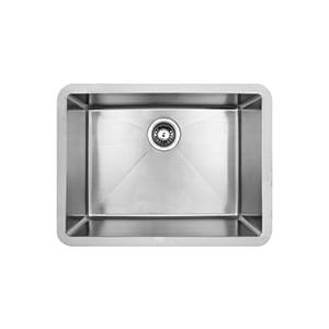 כיור מטבח עשוי נירוסטה, אגנית אחת, דגם PRFE280_כיורים למטבח-457