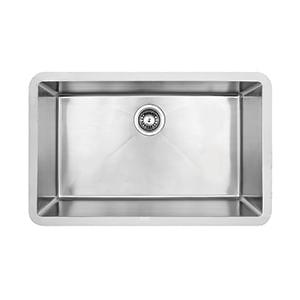 כיור מטבח עשוי נירוסטה, אגנית אחת, דגם PRFE300_כיורים למטבח-457