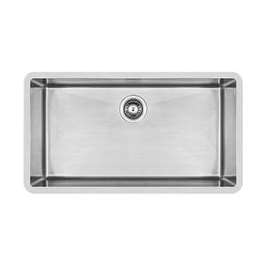 כיור מטבח עשוי נירוסטה, אגנית אחת, דגם PRFE900_כיורים למטבח-457