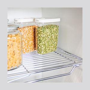 מדפי רשת קבועים לארון מזווה, דגם DPG_מזווים למטבח-513