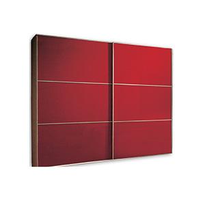 מנגנון הזזה חיצוני דלת מרחפת ל 2- דלתות עד 80 ק