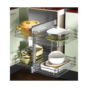 מדף פינתי נשלף, מג'יק קורנר שליפה מלאה, דגם 806E_פתרונות איחסון לפינות מטבח-568