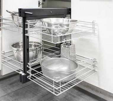 מדף פינתי נשלף, סופר מג'יק שליפה מלאה, דגם משופר 806E_פתרונות איחסון לפינות מטבח-568