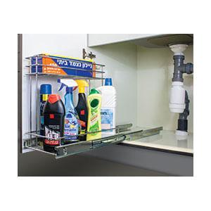 עגלת בקבוקים נשלפת מתחת לכיור, דגם 515210 / 515210G_מתקנים נשלפים למטבח-634