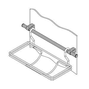 מוט למערכת תליית למטבח, דגם LA9837_מערכות תליה לכלי מטבח-301