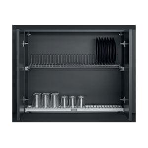 מערכת לייבוש כלים, מובנת בארון מטבח, עומק מדפים 254 מ