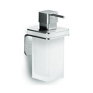מחזיק עם מיכל לסבון נוזלי בהדבקה, דגם B9328_מיכלים לסבון נוזלי-663
