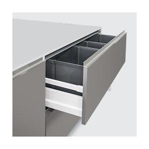 פח אשפה נשלף ממגירה עם מכסה אוטומטי, דגם 9XL_פחי אשפה נשלפים למטבח-303