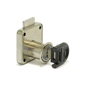 מנעול פח למגירה עם מפתח מתקפל וכיסוי פלסטיק במפתח, דגם G138_מנעולים למגירות-621