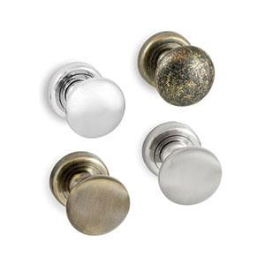 ידית כפתור קבועה לדלתות, דגם DM412_ידיות כפתור לדלתות-427