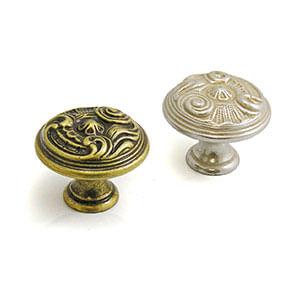 ידית כפתור בסגנון וינטאג' כפרי, דגם W2028_ידיות כפתור-291