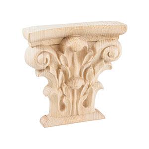 ככרוב מעטור עשוי עץ לתעשיית הריהוט, דגם WD89_אלמנטים מעץ לריהוט-405