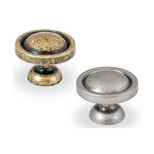 ידית כפתור עגולה, בסגנון וינטאג', דגם 1085_ידיות כפתור וינטאג' כפרי-304