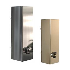 מיכל מרובע נתלה על קיר, לסבון נוזלי,נפח 200ML, דגם  Q3045_מיכלים לסבון נוזלי-663