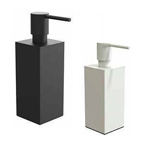 מיכל מונח מרובע לסבון נוזלי, נפח 150ml, דגם Q3050_מיכלים לסבון נוזלי-663