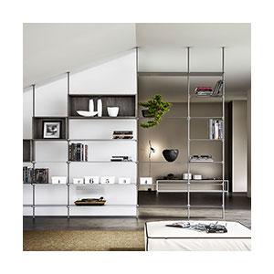 מחיצה מודולרית, רצפה תקרה בשילוב אפשרות מידוף לבית הפרטי חנויות ומשרדים,דגם SLIM_מחיצות רצפה תקרה-736
