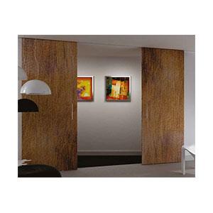 סט לדלת בניין תלויה עם שני בולמים, EVOLUTION_מנגנוני הזזה לדלת בניין-596