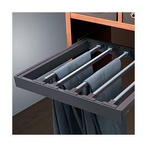 מתקן נשלף לתליית מכנסיים בארון עם בלימה, דגם WF07_מתקנים נשלפים למכנסיים-463