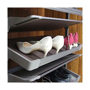 מתקן נשלף ומסתובב עם מדפים לנעליים, דגם WFD_מתקנים נשלפים לנעליים-461