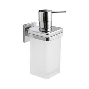 מיכל לסבון נוזלי עם תפס חיבור לקיר / דיספנסר, דגם B9337_סדרת BASICQ-787