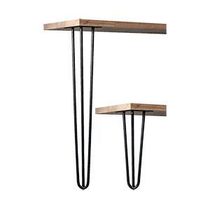 רגל סיכה (3 מוטות) לשולחן, קוטר 12 מ