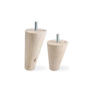רגל מסוגננת מעץ, דגם G0015_רגלי עץ לשולחנות וריהוט-391