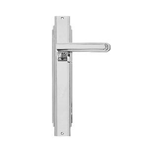 ידית לדלת ביתית בעיצוב יוקרתי, דגם C17810_ידיות עם פלטה-845