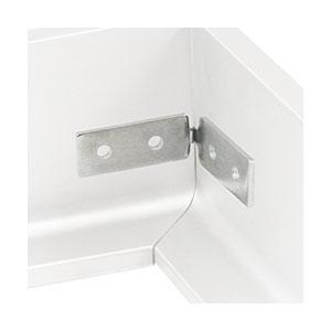 זווית וסט ברגים לתפיסת פרופיל L, דגם L1200_ידיות לארונות ומטבחים-290
