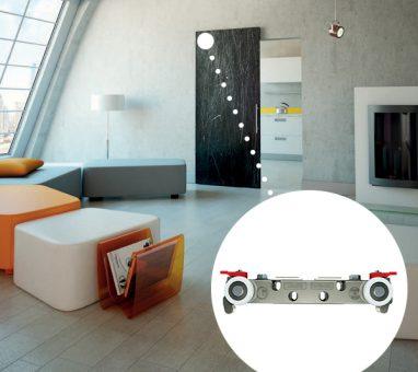 מנגנון הזזה סמוי לדלת בניין תלויה, דגם MAGIC2.1800_מנגנוני הזזה לדלת בניין-596