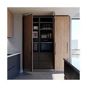 מנגנון פתיחה לדלת כנף מאוחסנת בכיס, דגם EXEDRA_מנגנוני פתיחה לדלתות מטבח-1730