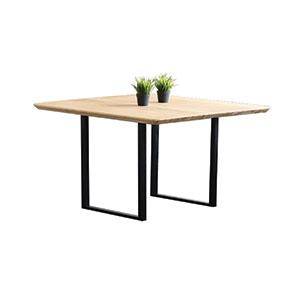 משטח ריבועי מוגמר לשולחן ריבועי עם שפה מעוגלת, או שפה זוית 45 מעלות דגם TTS / TTSC_משטחי עץ למטבחים וריהוט-678