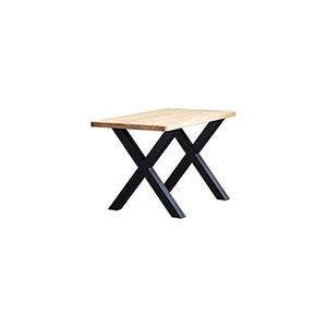 משטח מוגמר לשולחן מלבני עם פינות מעוגלות, או שפה בזווית 45 מעלות, דגם TTS / TTSC_משטחי עץ למטבחים וריהוט-678
