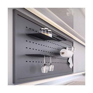 יחידת מדפים מודולרית למטבח, דגם BACK_מערכות תלייה לכלי מטבח | פתרונות תלייה למטבח-301