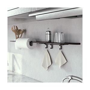 מדף מודולרי לאביזרי מטבח, סדרה BLADE HOB_מערכות תלייה לכלי מטבח-301