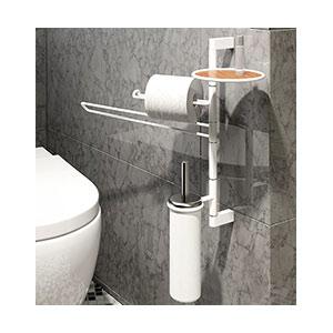 מתקן מודולרי צמוד קיר לאביזרי אמבטיה, דגם DFLY_מעמדים לאביזרי אמבט-657