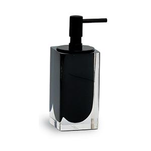 מיכל לסבון נוזלי בגון שחור, לתליה על קיר, דגם IT20_סדרת SNOW-1243