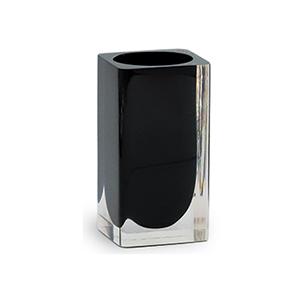 כוס זכוכית בגוו שחור לאמבטיה, דגם IT22_סדרת SNOW-1243
