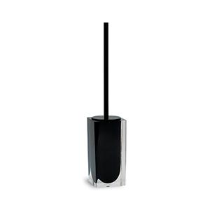 מברשת לניקוי אסלה, גוון שחור, מונחת רצפתית, דגם IT30_סדרת SNOW-1243