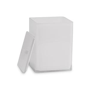 פח אשפה עם מכסה, גוון לבן, דגם IT31_סדרת SNOW-1243
